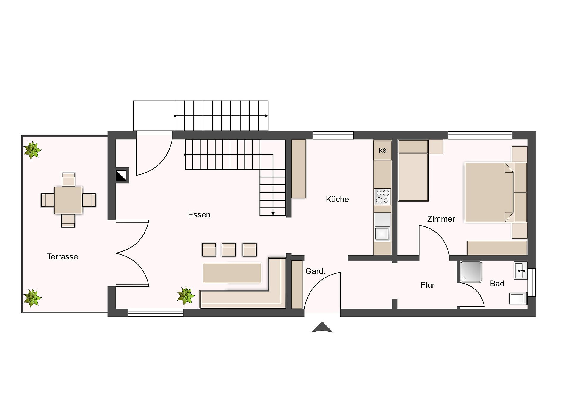 Haus Alberta: Blockhaus Winterberg